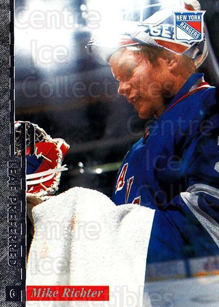 1996-97 Leaf Preferred #55 Mike Richter<br/>1 In Stock - $1.00 each - <a href=https://centericecollectibles.foxycart.com/cart?name=1996-97%20Leaf%20Preferred%20%2355%20Mike%20Richter...&quantity_max=1&price=$1.00&code=307783 class=foxycart> Buy it now! </a>