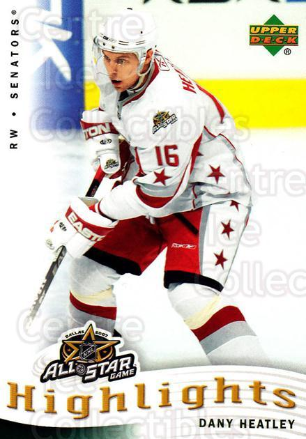 2007-08 Upper Deck AS Highlights #11 Dany Heatley<br/>7 In Stock - $2.00 each - <a href=https://centericecollectibles.foxycart.com/cart?name=2007-08%20Upper%20Deck%20AS%20Highlights%20%2311%20Dany%20Heatley...&quantity_max=7&price=$2.00&code=308597 class=foxycart> Buy it now! </a>