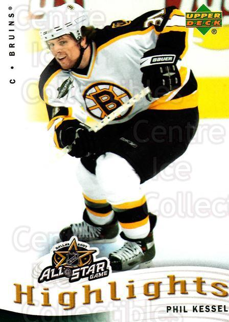2007-08 Upper Deck AS Highlights #14 Phil Kessel<br/>11 In Stock - $2.00 each - <a href=https://centericecollectibles.foxycart.com/cart?name=2007-08%20Upper%20Deck%20AS%20Highlights%20%2314%20Phil%20Kessel...&quantity_max=11&price=$2.00&code=308600 class=foxycart> Buy it now! </a>