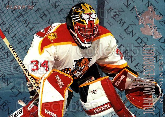 1994-95 Fleer Netminders #10 John Vanbiesbrouck<br/>5 In Stock - $2.00 each - <a href=https://centericecollectibles.foxycart.com/cart?name=1994-95%20Fleer%20Netminders%20%2310%20John%20Vanbiesbro...&quantity_max=5&price=$2.00&code=30860 class=foxycart> Buy it now! </a>