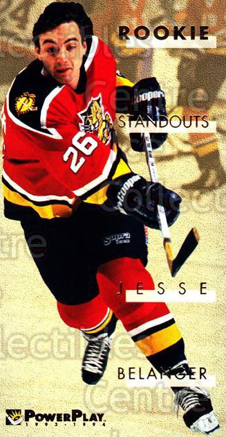 1993-94 PowerPlay Rookie Standouts #2 Jesse Belanger<br/>10 In Stock - $2.00 each - <a href=https://centericecollectibles.foxycart.com/cart?name=1993-94%20PowerPlay%20Rookie%20Standouts%20%232%20Jesse%20Belanger...&quantity_max=10&price=$2.00&code=308658 class=foxycart> Buy it now! </a>