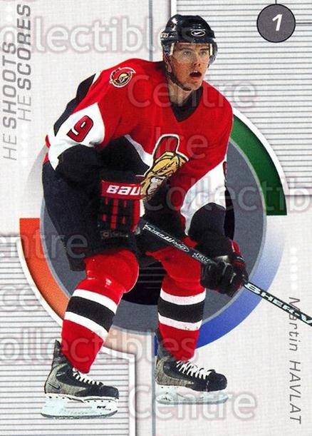 2001-02 BAP Update Points #12 Martin Havlat<br/>4 In Stock - $2.00 each - <a href=https://centericecollectibles.foxycart.com/cart?name=2001-02%20BAP%20Update%20Points%20%2312%20Martin%20Havlat...&quantity_max=4&price=$2.00&code=308766 class=foxycart> Buy it now! </a>