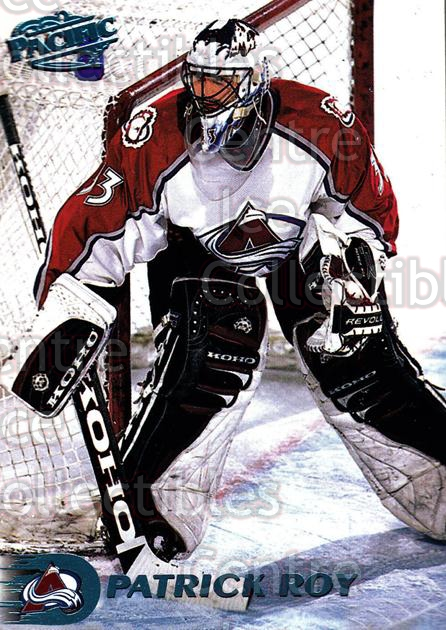 1998-99 Pacific Ice Blue #33 Patrick Roy<br/>1 In Stock - $25.00 each - <a href=https://centericecollectibles.foxycart.com/cart?name=1998-99%20Pacific%20Ice%20Blue%20%2333%20Patrick%20Roy...&price=$25.00&code=308839 class=foxycart> Buy it now! </a>