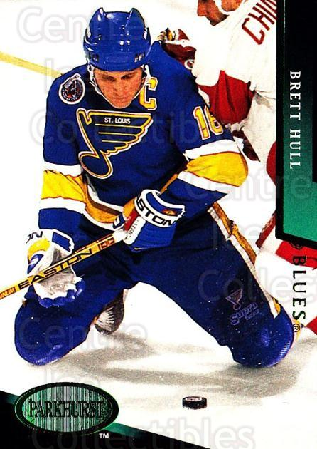 1993-94 Parkhurst Emerald #180 Brett Hull<br/>1 In Stock - $2.00 each - <a href=https://centericecollectibles.foxycart.com/cart?name=1993-94%20Parkhurst%20Emerald%20%23180%20Brett%20Hull...&quantity_max=1&price=$2.00&code=308901 class=foxycart> Buy it now! </a>