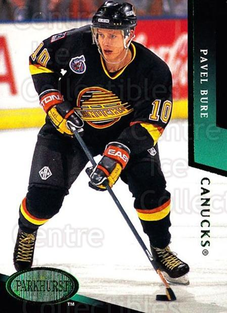 1993-94 Parkhurst Emerald #211 Pavel Bure<br/>2 In Stock - $3.00 each - <a href=https://centericecollectibles.foxycart.com/cart?name=1993-94%20Parkhurst%20Emerald%20%23211%20Pavel%20Bure...&quantity_max=2&price=$3.00&code=308905 class=foxycart> Buy it now! </a>