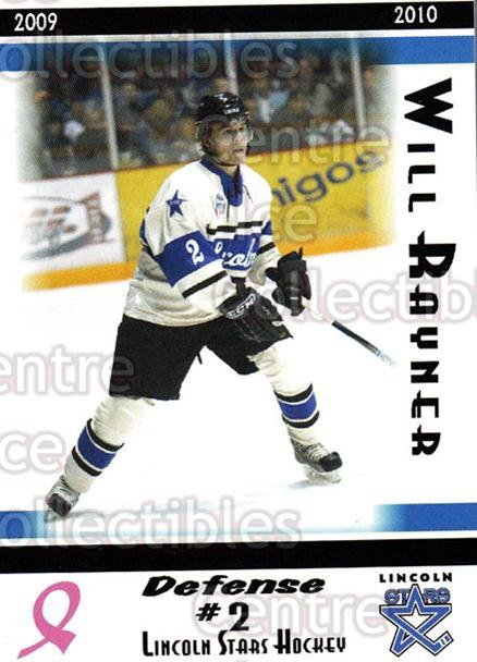 2009-10 Lincoln Stars High Gloss #3 Will Rayner<br/>2 In Stock - $3.00 each - <a href=https://centericecollectibles.foxycart.com/cart?name=2009-10%20Lincoln%20Stars%20High%20Gloss%20%233%20Will%20Rayner...&quantity_max=2&price=$3.00&code=308939 class=foxycart> Buy it now! </a>