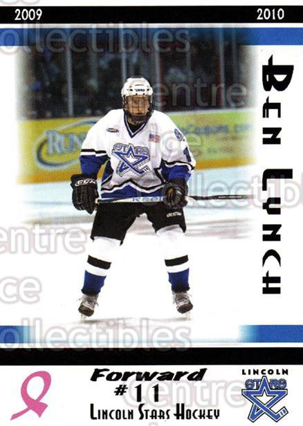 2009-10 Lincoln Stars High Gloss #10 Ben Lynch<br/>3 In Stock - $3.00 each - <a href=https://centericecollectibles.foxycart.com/cart?name=2009-10%20Lincoln%20Stars%20High%20Gloss%20%2310%20Ben%20Lynch...&quantity_max=3&price=$3.00&code=308946 class=foxycart> Buy it now! </a>