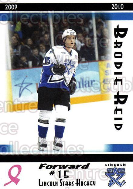 2009-10 Lincoln Stars High Gloss #13 Brodie Reid<br/>3 In Stock - $3.00 each - <a href=https://centericecollectibles.foxycart.com/cart?name=2009-10%20Lincoln%20Stars%20High%20Gloss%20%2313%20Brodie%20Reid...&quantity_max=3&price=$3.00&code=308949 class=foxycart> Buy it now! </a>