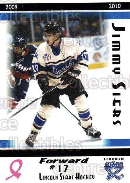 2009-10 Lincoln Stars High Gloss #15 Jimmy Siers<br/>3 In Stock - $3.00 each - <a href=https://centericecollectibles.foxycart.com/cart?name=2009-10%20Lincoln%20Stars%20High%20Gloss%20%2315%20Jimmy%20Siers...&quantity_max=3&price=$3.00&code=308951 class=foxycart> Buy it now! </a>