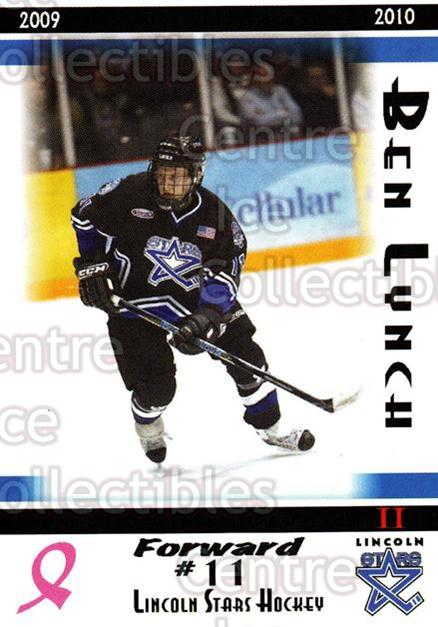 2009-10 Lincoln Stars High Gloss #34 Ben Lynch<br/>3 In Stock - $3.00 each - <a href=https://centericecollectibles.foxycart.com/cart?name=2009-10%20Lincoln%20Stars%20High%20Gloss%20%2334%20Ben%20Lynch...&quantity_max=3&price=$3.00&code=308970 class=foxycart> Buy it now! </a>