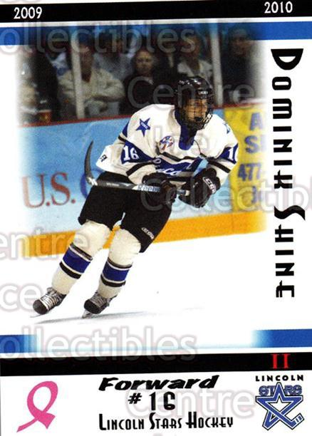 2009-10 Lincoln Stars High Gloss #39 Dominik Shine<br/>1 In Stock - $3.00 each - <a href=https://centericecollectibles.foxycart.com/cart?name=2009-10%20Lincoln%20Stars%20High%20Gloss%20%2339%20Dominik%20Shine...&quantity_max=1&price=$3.00&code=308975 class=foxycart> Buy it now! </a>