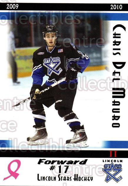 2009-10 Lincoln Stars High Gloss #40 Chris Del Mauro<br/>4 In Stock - $3.00 each - <a href=https://centericecollectibles.foxycart.com/cart?name=2009-10%20Lincoln%20Stars%20High%20Gloss%20%2340%20Chris%20Del%20Mauro...&quantity_max=4&price=$3.00&code=308976 class=foxycart> Buy it now! </a>