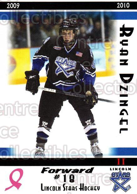 2009-10 Lincoln Stars High Gloss #41 Ryan Dzingel<br/>2 In Stock - $3.00 each - <a href=https://centericecollectibles.foxycart.com/cart?name=2009-10%20Lincoln%20Stars%20High%20Gloss%20%2341%20Ryan%20Dzingel...&quantity_max=2&price=$3.00&code=308977 class=foxycart> Buy it now! </a>