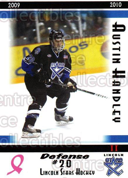 2009-10 Lincoln Stars High Gloss #43 Austin Handley<br/>3 In Stock - $3.00 each - <a href=https://centericecollectibles.foxycart.com/cart?name=2009-10%20Lincoln%20Stars%20High%20Gloss%20%2343%20Austin%20Handley...&quantity_max=3&price=$3.00&code=308979 class=foxycart> Buy it now! </a>