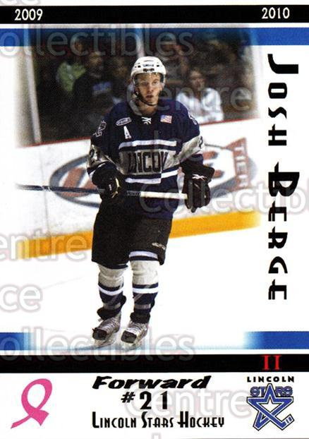 2009-10 Lincoln Stars High Gloss #44 Josh Berge<br/>4 In Stock - $3.00 each - <a href=https://centericecollectibles.foxycart.com/cart?name=2009-10%20Lincoln%20Stars%20High%20Gloss%20%2344%20Josh%20Berge...&quantity_max=4&price=$3.00&code=308980 class=foxycart> Buy it now! </a>