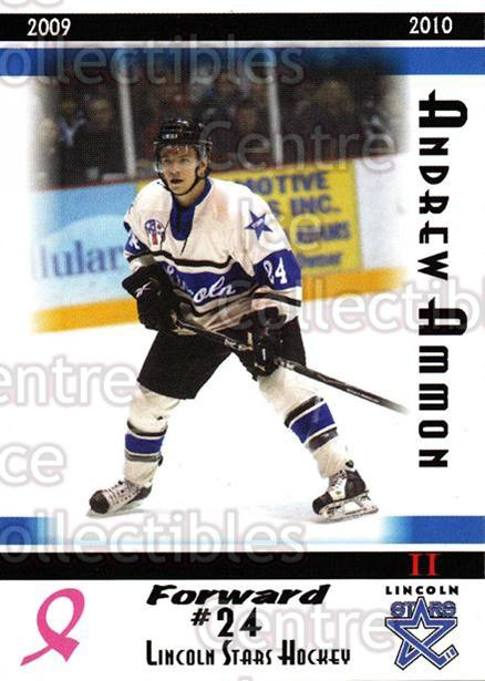 2009-10 Lincoln Stars High Gloss #47 Andrew Ammon<br/>2 In Stock - $3.00 each - <a href=https://centericecollectibles.foxycart.com/cart?name=2009-10%20Lincoln%20Stars%20High%20Gloss%20%2347%20Andrew%20Ammon...&quantity_max=2&price=$3.00&code=308983 class=foxycart> Buy it now! </a>