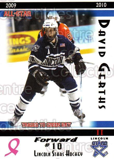 2009-10 Lincoln Stars High Gloss #50 David Gerths<br/>4 In Stock - $3.00 each - <a href=https://centericecollectibles.foxycart.com/cart?name=2009-10%20Lincoln%20Stars%20High%20Gloss%20%2350%20David%20Gerths...&quantity_max=4&price=$3.00&code=308986 class=foxycart> Buy it now! </a>