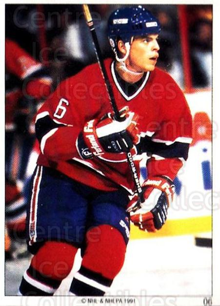 1991 Montreal Canadiens Panini Team Stickers #6 Russ Courtnall<br/>10 In Stock - $3.00 each - <a href=https://centericecollectibles.foxycart.com/cart?name=1991%20Montreal%20Canadiens%20Panini%20Team%20Stickers%20%236%20Russ%20Courtnall...&quantity_max=10&price=$3.00&code=308 class=foxycart> Buy it now! </a>