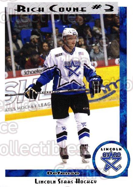2011-12 Lincoln Stars #3 Rich Coyne<br/>4 In Stock - $3.00 each - <a href=https://centericecollectibles.foxycart.com/cart?name=2011-12%20Lincoln%20Stars%20%233%20Rich%20Coyne...&quantity_max=4&price=$3.00&code=309052 class=foxycart> Buy it now! </a>