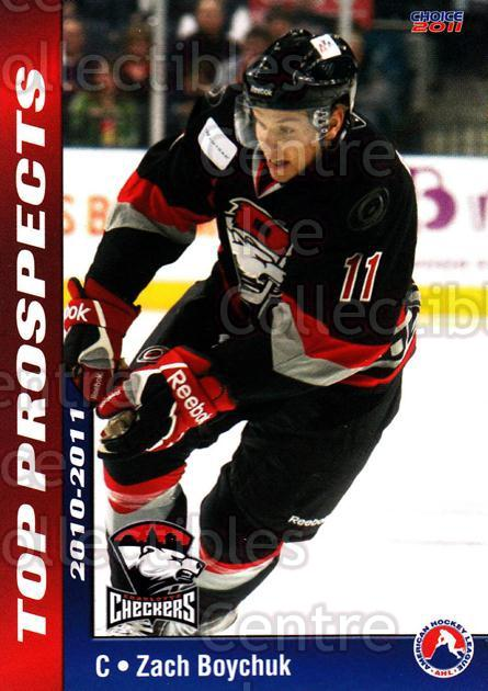2010-11 AHL Top Prospects #8 Zach Boychuk<br/>6 In Stock - $3.00 each - <a href=https://centericecollectibles.foxycart.com/cart?name=2010-11%20AHL%20Top%20Prospects%20%238%20Zach%20Boychuk...&quantity_max=6&price=$3.00&code=309084 class=foxycart> Buy it now! </a>