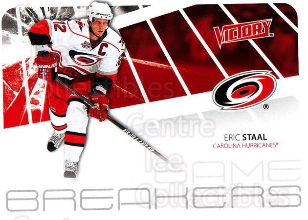 2011-12 UD Victory Game Breakers #ES Eric Staal<br/>5 In Stock - $2.00 each - <a href=https://centericecollectibles.foxycart.com/cart?name=2011-12%20UD%20Victory%20Game%20Breakers%20%23ES%20Eric%20Staal...&quantity_max=5&price=$2.00&code=309138 class=foxycart> Buy it now! </a>