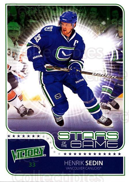 2011-12 UD Victory Stars of the Game #HS Henrik Sedin<br/>2 In Stock - $2.00 each - <a href=https://centericecollectibles.foxycart.com/cart?name=2011-12%20UD%20Victory%20Stars%20of%20the%20Game%20%23HS%20Henrik%20Sedin...&quantity_max=2&price=$2.00&code=309159 class=foxycart> Buy it now! </a>