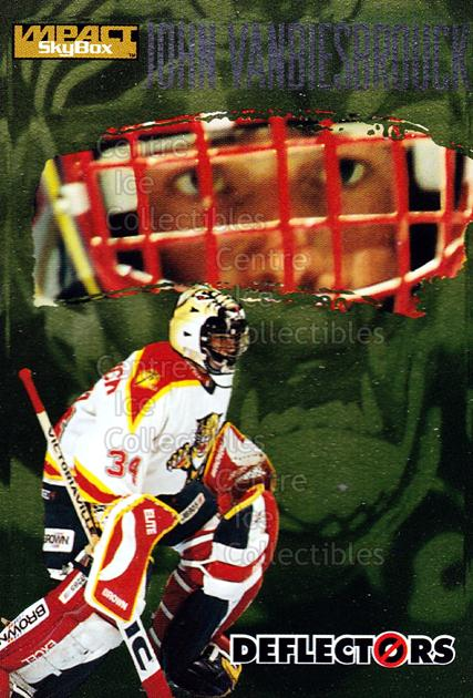 1995-96 SkyBox Impact Deflectors #6 John Vanbiesbrouck<br/>5 In Stock - $2.00 each - <a href=https://centericecollectibles.foxycart.com/cart?name=1995-96%20SkyBox%20Impact%20Deflectors%20%236%20John%20Vanbiesbro...&quantity_max=5&price=$2.00&code=309235 class=foxycart> Buy it now! </a>