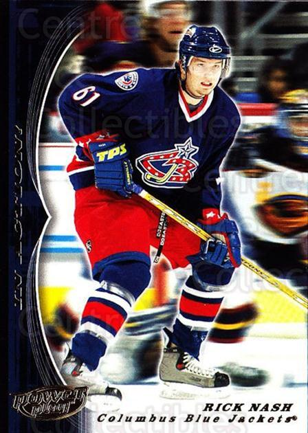 2005-06 UD Power Play #108 Rick Nash<br/>3 In Stock - $2.00 each - <a href=https://centericecollectibles.foxycart.com/cart?name=2005-06%20UD%20Power%20Play%20%23108%20Rick%20Nash...&quantity_max=3&price=$2.00&code=309302 class=foxycart> Buy it now! </a>