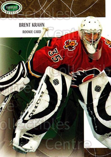 2003-04 Parkhurst Rookie #113 Brent Krahn<br/>3 In Stock - $5.00 each - <a href=https://centericecollectibles.foxycart.com/cart?name=2003-04%20Parkhurst%20Rookie%20%23113%20Brent%20Krahn...&quantity_max=3&price=$5.00&code=309359 class=foxycart> Buy it now! </a>