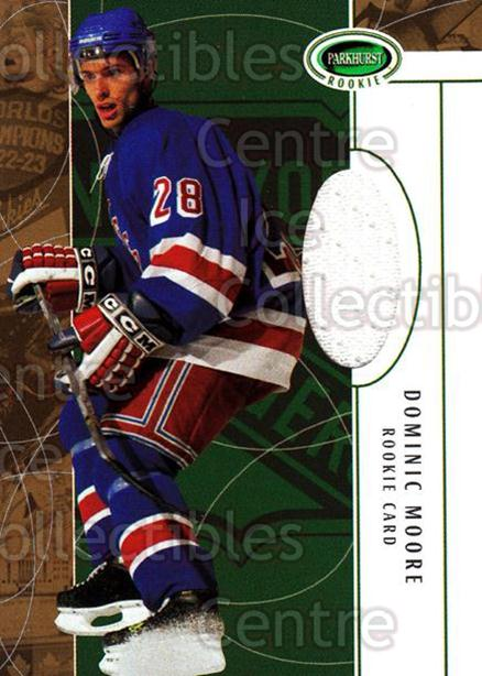 2003-04 Parkhurst Rookie #155 Dominic Moore<br/>1 In Stock - $5.00 each - <a href=https://centericecollectibles.foxycart.com/cart?name=2003-04%20Parkhurst%20Rookie%20%23155%20Dominic%20Moore...&quantity_max=1&price=$5.00&code=309387 class=foxycart> Buy it now! </a>