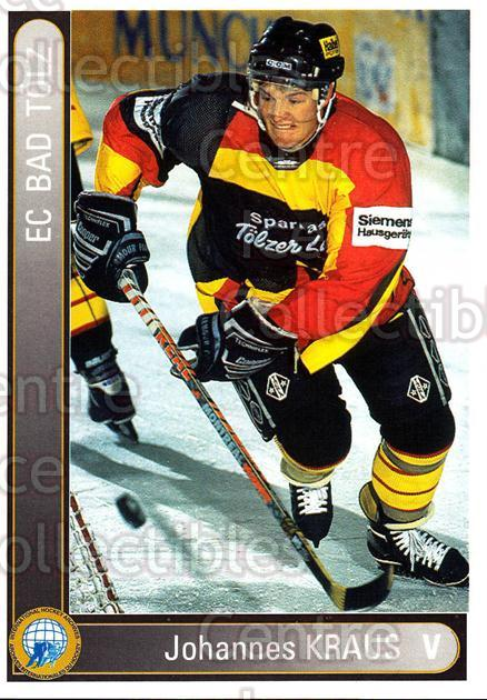 1994-95 German First League #10 Johannes Kraus<br/>13 In Stock - $2.00 each - <a href=https://centericecollectibles.foxycart.com/cart?name=1994-95%20German%20First%20League%20%2310%20Johannes%20Kraus...&quantity_max=13&price=$2.00&code=30938 class=foxycart> Buy it now! </a>