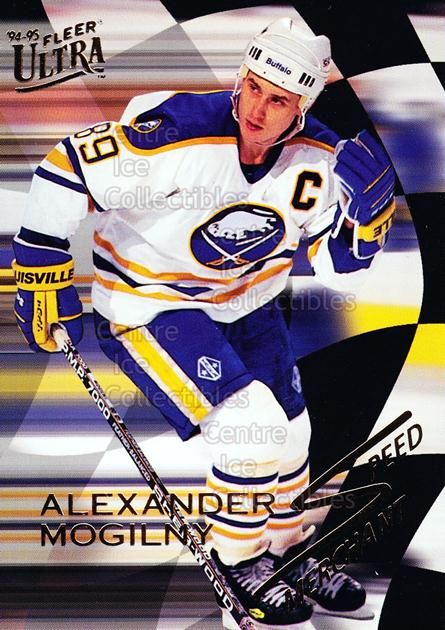 1994-95 Ultra Speed Merchants #8 Alexander Mogilny<br/>15 In Stock - $2.00 each - <a href=https://centericecollectibles.foxycart.com/cart?name=1994-95%20Ultra%20Speed%20Merchants%20%238%20Alexander%20Mogil...&quantity_max=15&price=$2.00&code=309433 class=foxycart> Buy it now! </a>