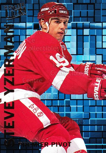 1994-95 Ultra Premier Pivots #10 Steve Yzerman<br/>15 In Stock - $3.00 each - <a href=https://centericecollectibles.foxycart.com/cart?name=1994-95%20Ultra%20Premier%20Pivots%20%2310%20Steve%20Yzerman...&price=$3.00&code=309437 class=foxycart> Buy it now! </a>