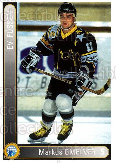 1994-95 German First League #104 Markus Gmeiner<br/>12 In Stock - $2.00 each - <a href=https://centericecollectibles.foxycart.com/cart?name=1994-95%20German%20First%20League%20%23104%20Markus%20Gmeiner...&quantity_max=12&price=$2.00&code=30943 class=foxycart> Buy it now! </a>