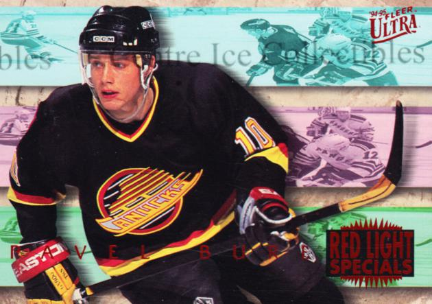 1994-95 Ultra Red Light Specials #2 Pavel Bure<br/>1 In Stock - $5.00 each - <a href=https://centericecollectibles.foxycart.com/cart?name=1994-95%20Ultra%20Red%20Light%20Specials%20%232%20Pavel%20Bure...&quantity_max=1&price=$5.00&code=309441 class=foxycart> Buy it now! </a>