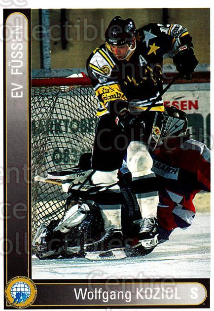 1994-95 German First League #106 Wolfgang Koziol<br/>17 In Stock - $2.00 each - <a href=https://centericecollectibles.foxycart.com/cart?name=1994-95%20German%20First%20League%20%23106%20Wolfgang%20Koziol...&quantity_max=17&price=$2.00&code=30945 class=foxycart> Buy it now! </a>