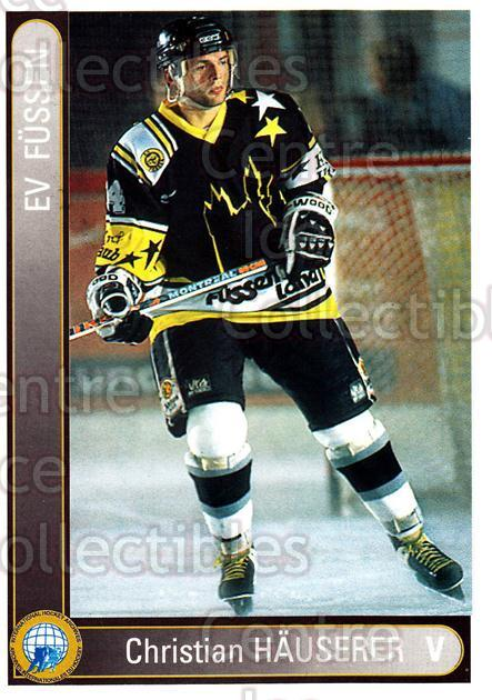 1994-95 German First League #107 Christian Hauserer<br/>14 In Stock - $2.00 each - <a href=https://centericecollectibles.foxycart.com/cart?name=1994-95%20German%20First%20League%20%23107%20Christian%20Hause...&quantity_max=14&price=$2.00&code=30946 class=foxycart> Buy it now! </a>
