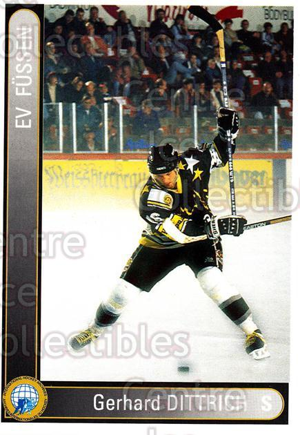 1994-95 German First League #108 Gerhard Dittrich<br/>13 In Stock - $2.00 each - <a href=https://centericecollectibles.foxycart.com/cart?name=1994-95%20German%20First%20League%20%23108%20Gerhard%20Dittric...&quantity_max=13&price=$2.00&code=30947 class=foxycart> Buy it now! </a>