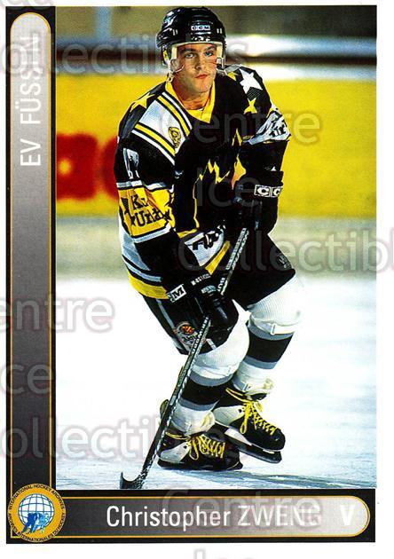 1994-95 German First League #109 Christopher Zweng<br/>12 In Stock - $2.00 each - <a href=https://centericecollectibles.foxycart.com/cart?name=1994-95%20German%20First%20League%20%23109%20Christopher%20Zwe...&quantity_max=12&price=$2.00&code=30948 class=foxycart> Buy it now! </a>