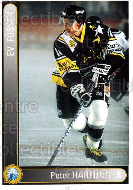 1994-95 German First League #110 Peter Hartung<br/>9 In Stock - $2.00 each - <a href=https://centericecollectibles.foxycart.com/cart?name=1994-95%20German%20First%20League%20%23110%20Peter%20Hartung...&quantity_max=9&price=$2.00&code=30950 class=foxycart> Buy it now! </a>