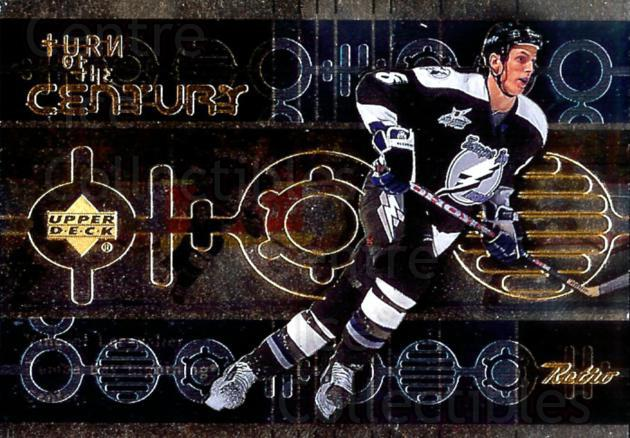 1999-00 Upper Deck Retro Turn of the Century #1 Vincent Lecavalier<br/>3 In Stock - $3.00 each - <a href=https://centericecollectibles.foxycart.com/cart?name=1999-00%20Upper%20Deck%20Retro%20Turn%20of%20the%20Century%20%231%20Vincent%20Lecaval...&quantity_max=3&price=$3.00&code=309534 class=foxycart> Buy it now! </a>