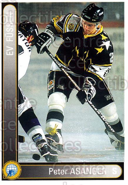 1994-95 German First League #115 Peter Asanger<br/>8 In Stock - $2.00 each - <a href=https://centericecollectibles.foxycart.com/cart?name=1994-95%20German%20First%20League%20%23115%20Peter%20Asanger...&quantity_max=8&price=$2.00&code=30955 class=foxycart> Buy it now! </a>