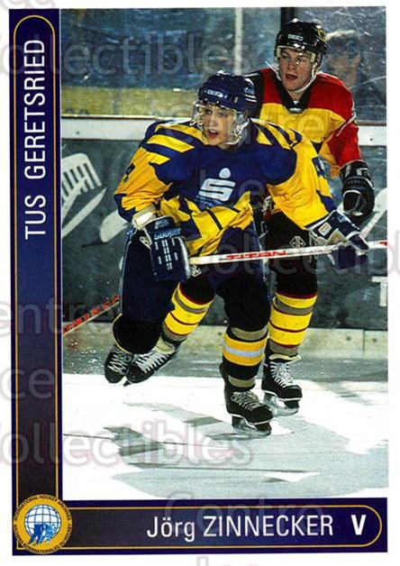 1994-95 German First League #123 Jorg Zinnecker<br/>10 In Stock - $2.00 each - <a href=https://centericecollectibles.foxycart.com/cart?name=1994-95%20German%20First%20League%20%23123%20Jorg%20Zinnecker...&quantity_max=10&price=$2.00&code=30964 class=foxycart> Buy it now! </a>