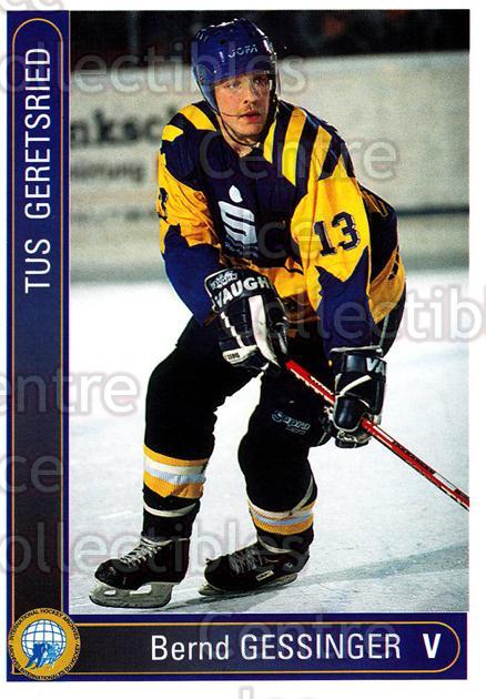 1994-95 German First League #130 Bernd Gessinger<br/>13 In Stock - $2.00 each - <a href=https://centericecollectibles.foxycart.com/cart?name=1994-95%20German%20First%20League%20%23130%20Bernd%20Gessinger...&quantity_max=13&price=$2.00&code=30972 class=foxycart> Buy it now! </a>