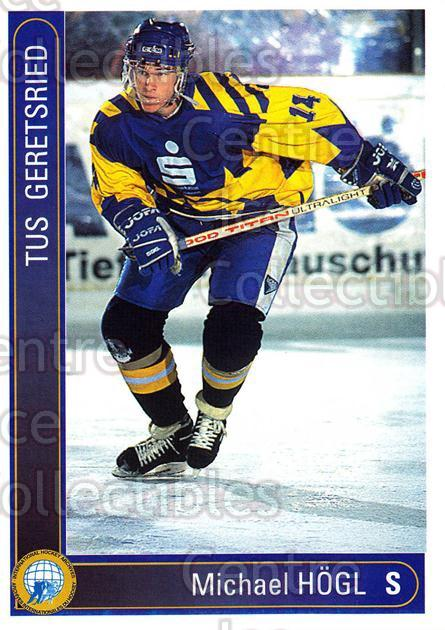 1994-95 German First League #131 Michael Hogl<br/>16 In Stock - $2.00 each - <a href=https://centericecollectibles.foxycart.com/cart?name=1994-95%20German%20First%20League%20%23131%20Michael%20Hogl...&quantity_max=16&price=$2.00&code=30973 class=foxycart> Buy it now! </a>