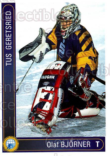 1994-95 German First League #137 Olaf Bjorner<br/>8 In Stock - $2.00 each - <a href=https://centericecollectibles.foxycart.com/cart?name=1994-95%20German%20First%20League%20%23137%20Olaf%20Bjorner...&quantity_max=8&price=$2.00&code=30979 class=foxycart> Buy it now! </a>
