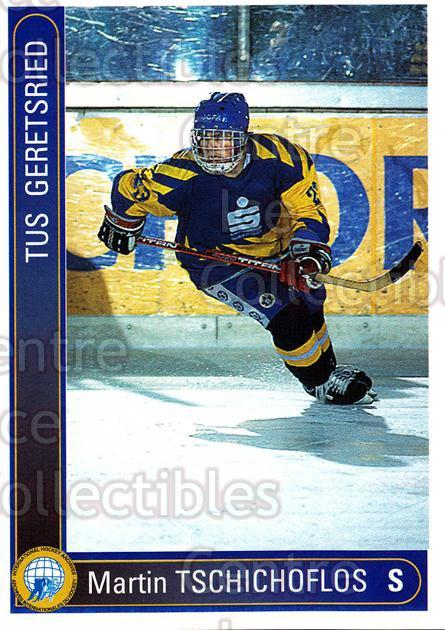 1994-95 German First League #140 Martin Tschichoflos<br/>12 In Stock - $2.00 each - <a href=https://centericecollectibles.foxycart.com/cart?name=1994-95%20German%20First%20League%20%23140%20Martin%20Tschicho...&quantity_max=12&price=$2.00&code=30983 class=foxycart> Buy it now! </a>