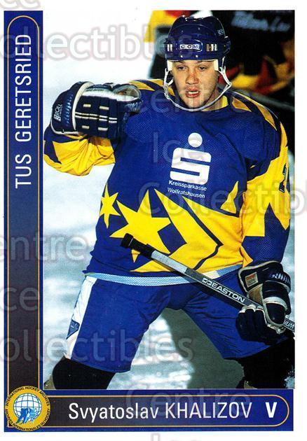 1994-95 German First League #142 Svyatoslav Khalizov<br/>1 In Stock - $2.00 each - <a href=https://centericecollectibles.foxycart.com/cart?name=1994-95%20German%20First%20League%20%23142%20Svyatoslav%20Khal...&quantity_max=1&price=$2.00&code=30984 class=foxycart> Buy it now! </a>