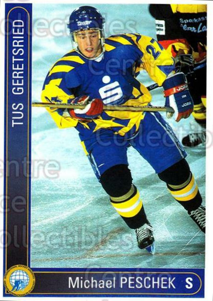 1994-95 German First League #143 Michael Pescheck<br/>12 In Stock - $2.00 each - <a href=https://centericecollectibles.foxycart.com/cart?name=1994-95%20German%20First%20League%20%23143%20Michael%20Peschec...&quantity_max=12&price=$2.00&code=30985 class=foxycart> Buy it now! </a>