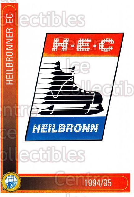 1994-95 German First League #145 Heilbronner EC<br/>13 In Stock - $2.00 each - <a href=https://centericecollectibles.foxycart.com/cart?name=1994-95%20German%20First%20League%20%23145%20Heilbronner%20EC...&price=$2.00&code=30987 class=foxycart> Buy it now! </a>